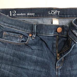 LOFT modern skinny